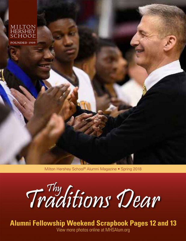 Thy Traditions Dear Spring 2018 Cover